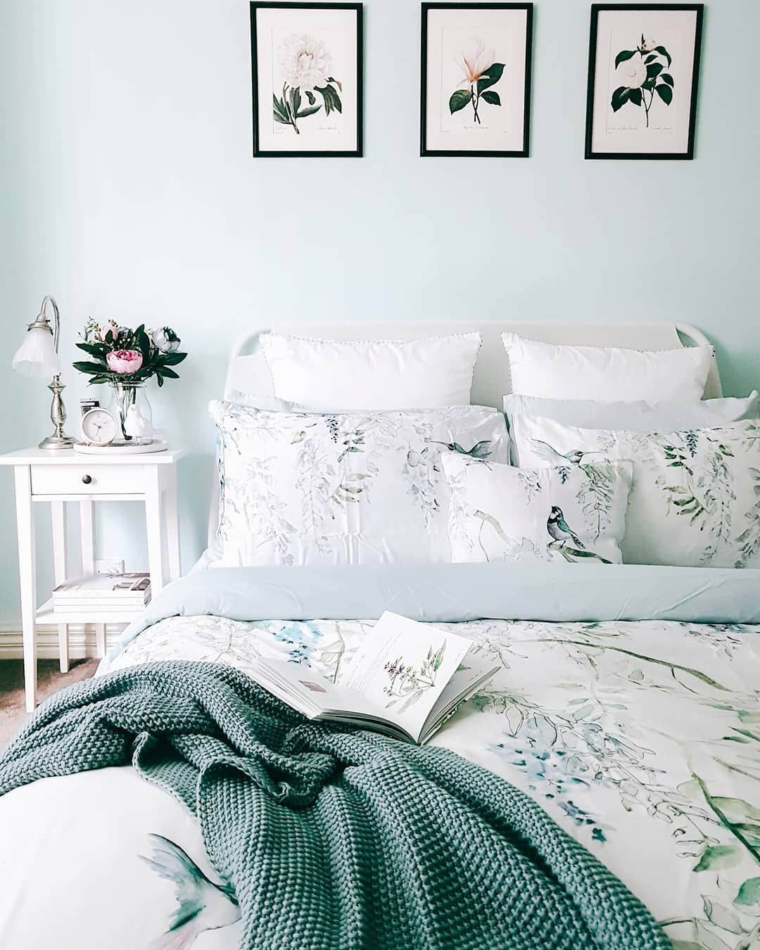 Bedroom pastel blue provincial (With images) Blue room