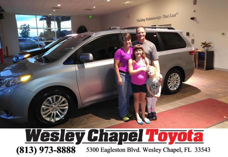 https://flic.kr/p/PZwdE5 | Happy Anniversary to Jane on your #Toyota #Sienna from Patrick Sawyer at Wesley Chapel Toyota! | deliverymaxx.com/DealerReviews.aspx?DealerCode=NHPF