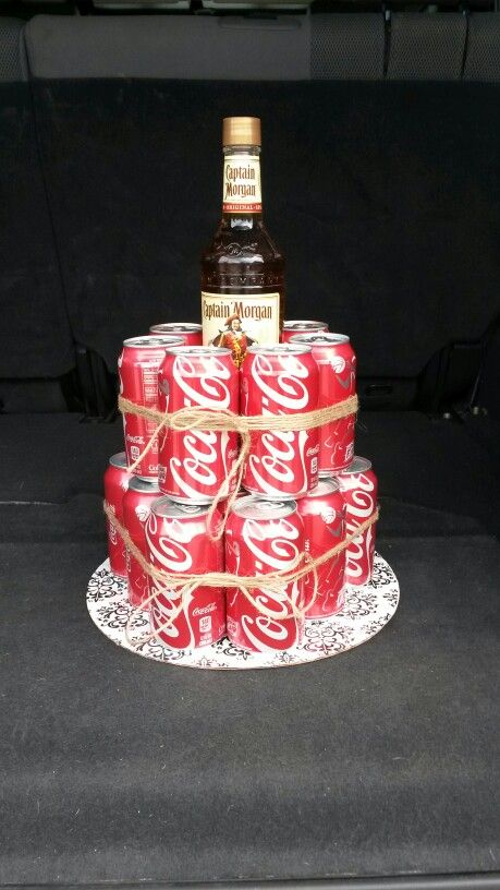 captain morgan coke cake look what i can make. Black Bedroom Furniture Sets. Home Design Ideas