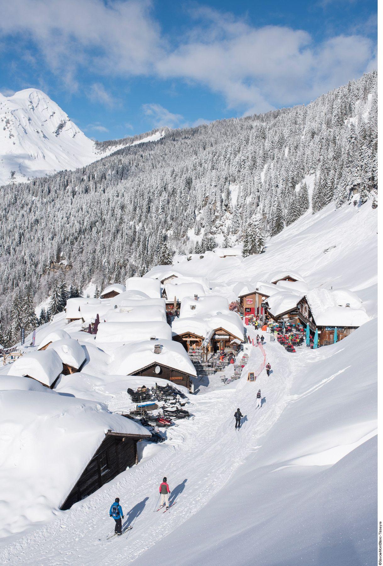 19 Idées De L Hiver En Montagne En 2021 Haute Savoie Station De Montagne Mont Blanc