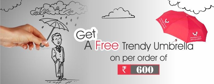 This Eid Get Trendy Umbrella on Every order over Rs.600/- www.biggmart.com