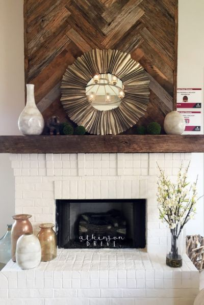 Top 25 Best Reclaimed Wood Fireplace Wood Fireplace