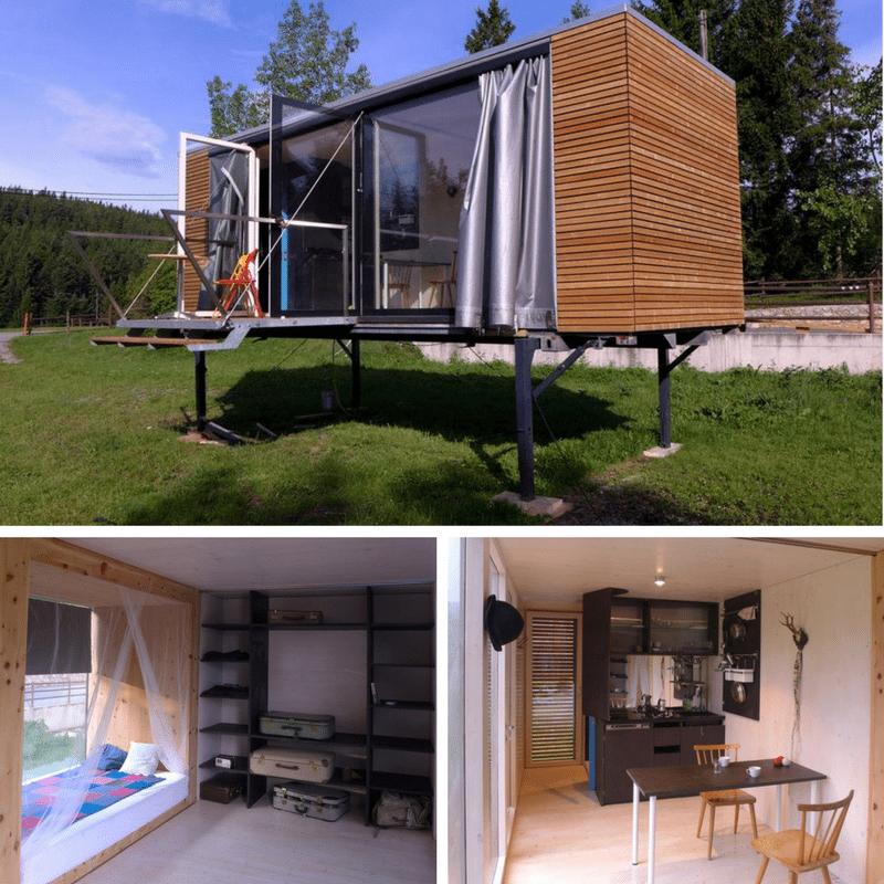 Home Design Smallhouse: SIMPLE HOME TINY BOX ON STILTS