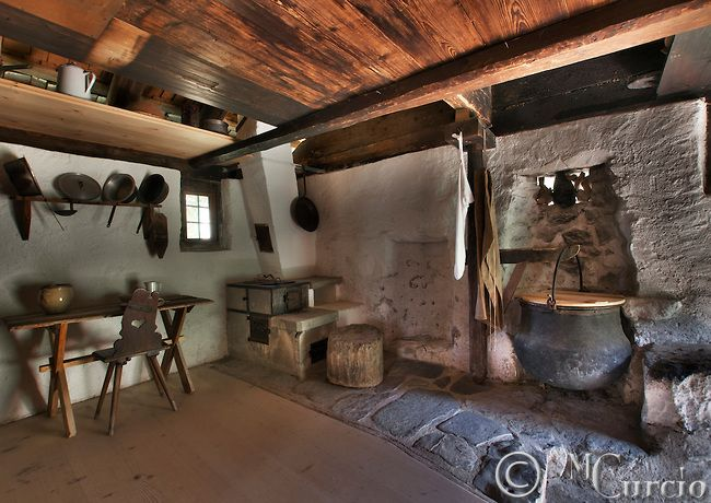 Swiss Farmhouse Interior
