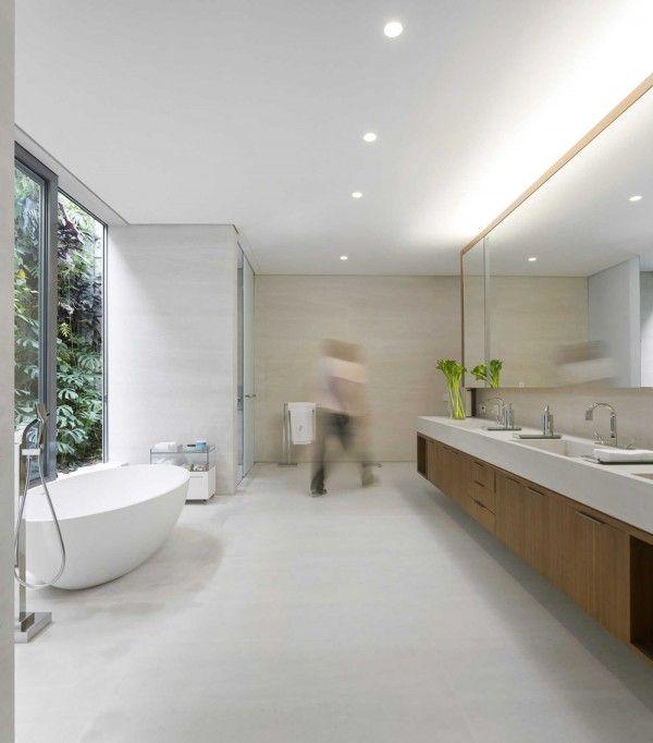 An Open Plan Brazilian House With Splendid Views Arq BAÑOS - An open plan brazilian house with splendid views