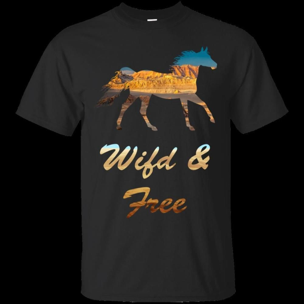 3a1a4c6c Funny Wild Horse Riding Cool T-Shirts For Men Best Gift S-5XL ...