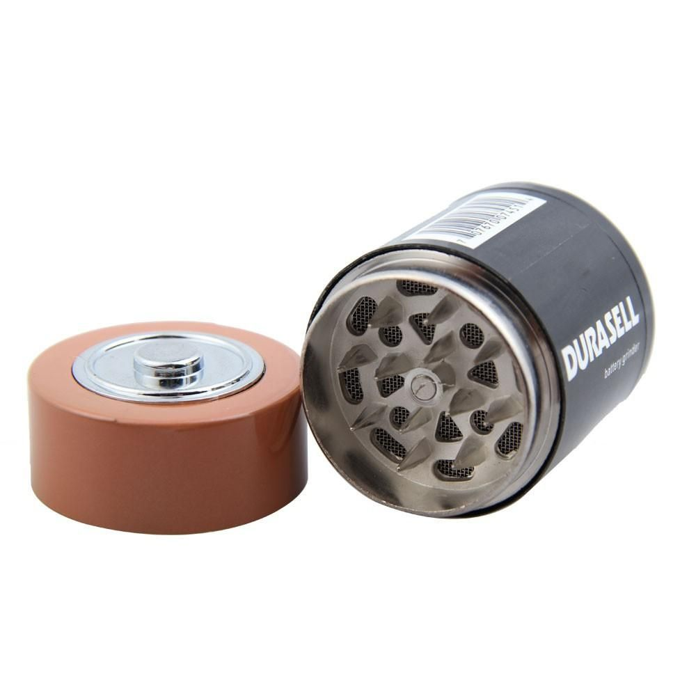 discreet battery disguised dry herb weed grinder. best way to hide