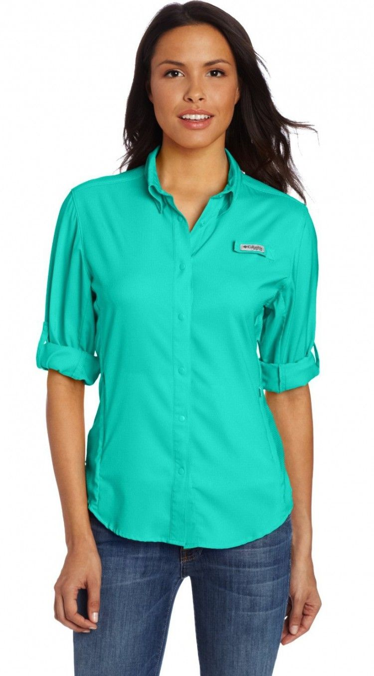05abe463fe6 Columbia Women's Tamiami II Long Sleeve Shirt. This extended-size long- sleeve fishing shirt is ideal for longer trips. #Columbia #fashion #women # shirt