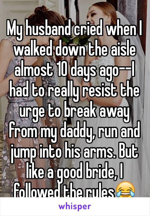 Whisper App. Confessions from brides and grooms on what