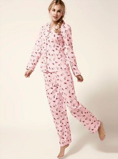 3f6c5791aa Sausage Dog Pyjamas In A Bag - Pink Mix