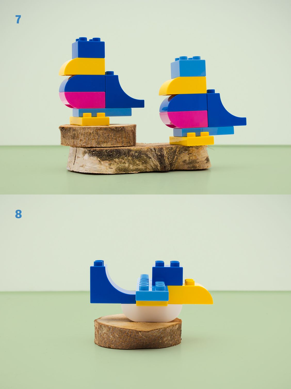 Fun bird building ideas using only 19 lego duplo bricks for the love of lego lego duplo - Adventskalender duplo ...