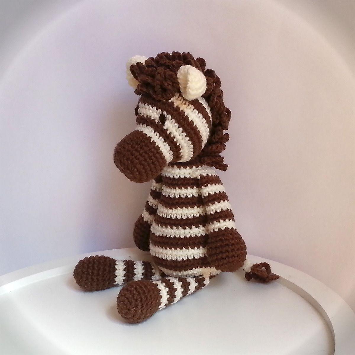 Doudou zbre au crochet animal savane cuddly toy zebra amigurumi doudou zbre au crochet animal savane cuddly toy zebra amigurumi jungle dt1010fo