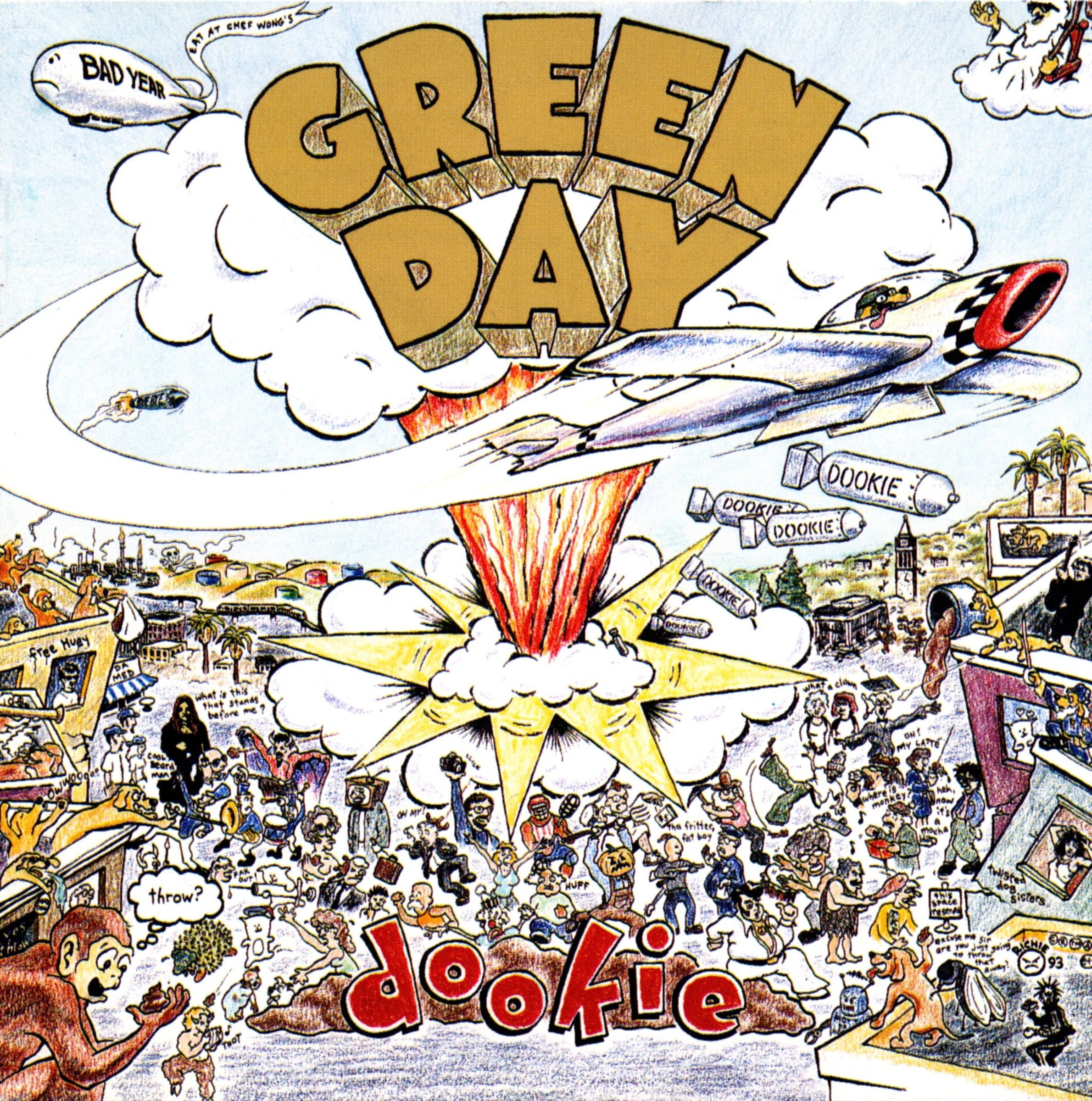 Cover Stories Green Day Dookie Green Day Albums Green Day Dookie Album Cover Art