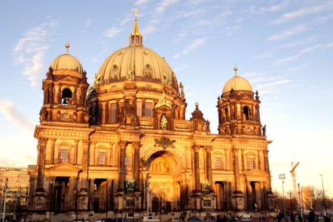 Berlin - see the Cathedral, walk along the Berlin Wall, climb to the top of the Reichstag Dome.