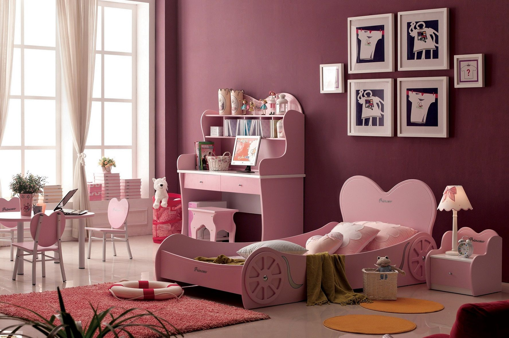 toddler girl bedroom wall colors | design ideas 2017-2018