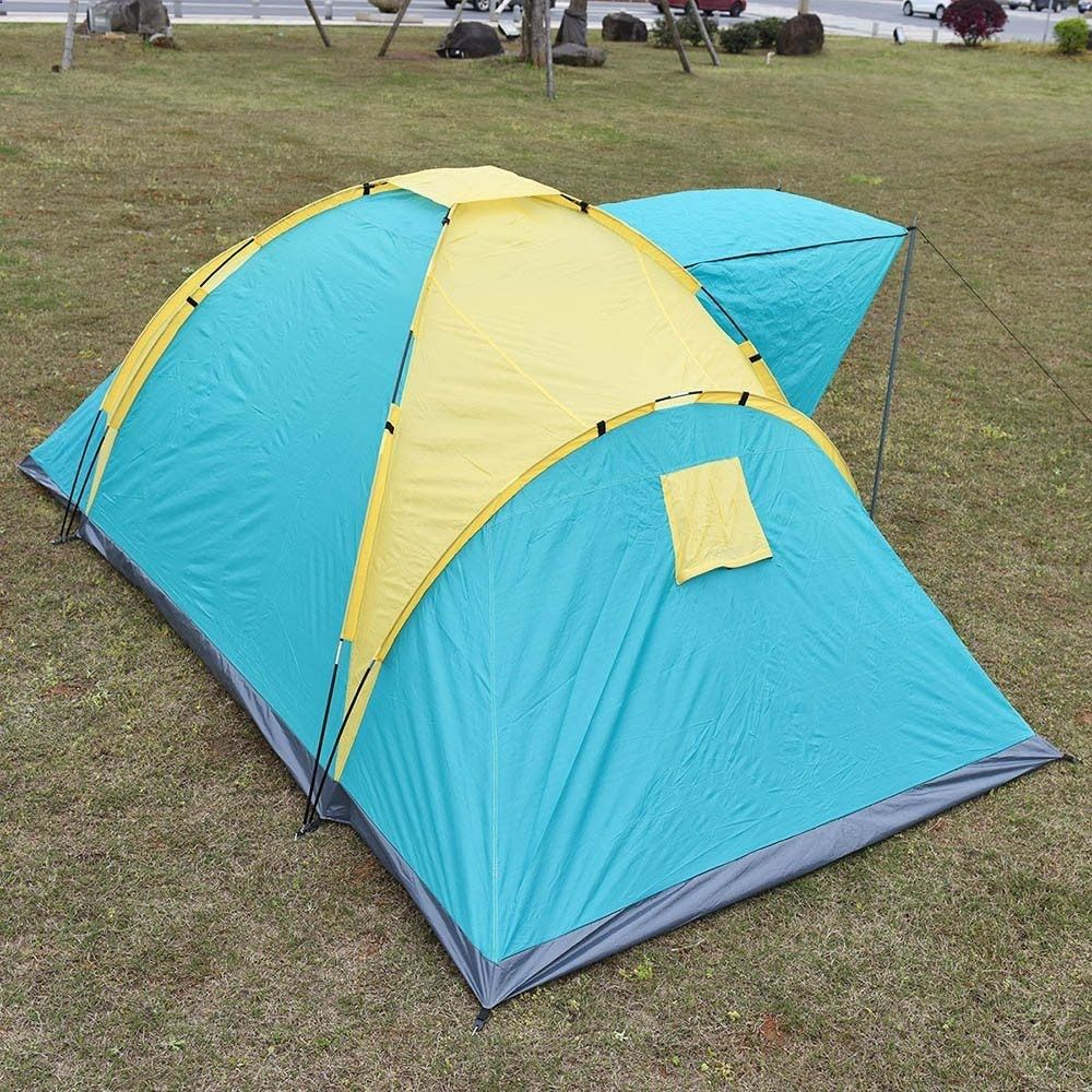 4-6 Persons Outdoor Beach C&ing Tent Family Rainproof Tent for Hiking Trekking Backpacking Travel  sc 1 st  Pinterest & 4-6 Persons Outdoor Beach Camping Tent Family Rainproof Tent for ...