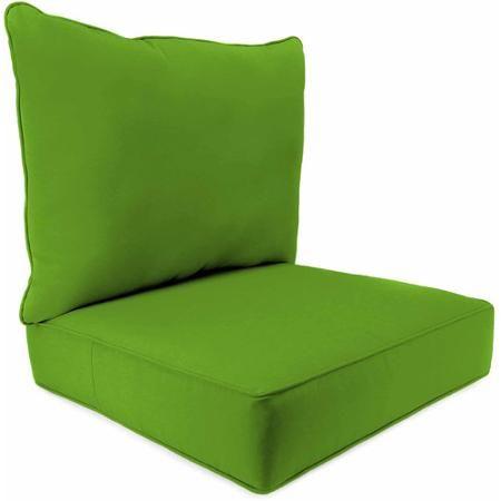 2 Pc Deep Seat Chair Cushion Maine Outdoor Furniture Chair