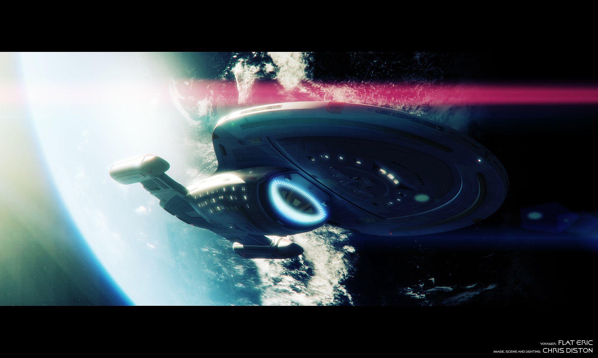 Voyager Breaking Orbit