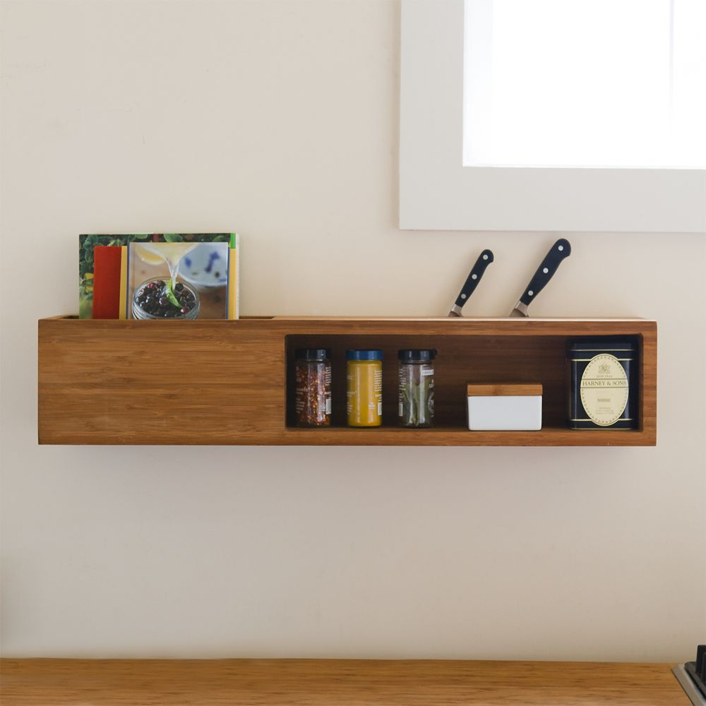 Here I Go Again With The Wall Mounted Storage Unit Can Even Be Used In