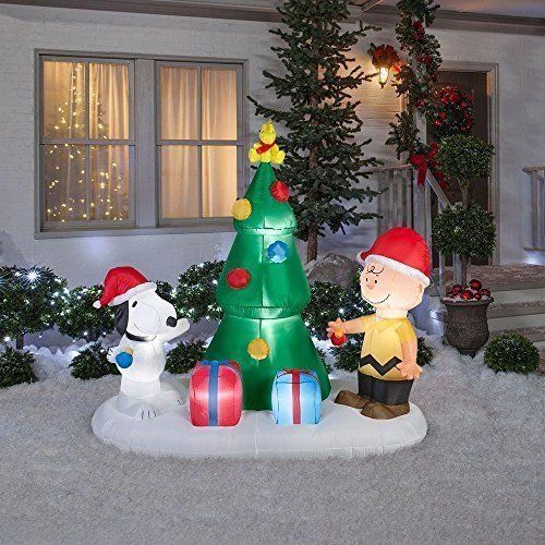 top 7 inflatable outdoor christmas decorations charliebrownchristmas