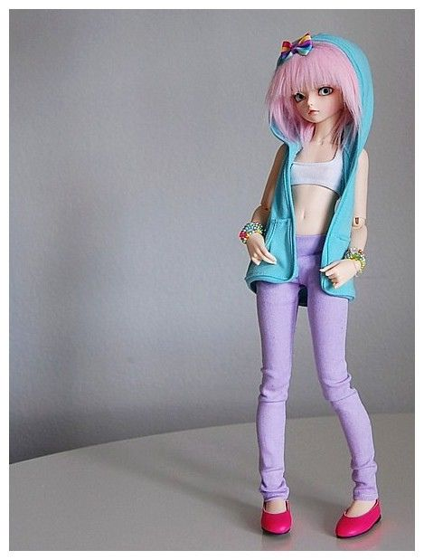 New gear!  Nohely in some of her new clothes...