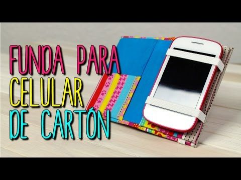 be25cd9458c Download video: Como hacer Funda para Celular con Cartón - DIY Funda para  móvil - Cartonaje - Catwalk