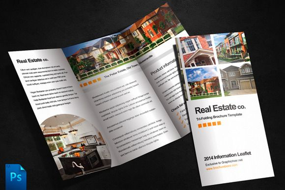 Pin By Petra P On FLYERS Pinterest Brochure Template - Real estate tri fold brochure template