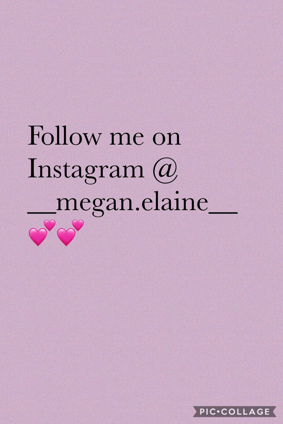 Follow me on Instagram and I'll follow back 💕 #followme #instagram