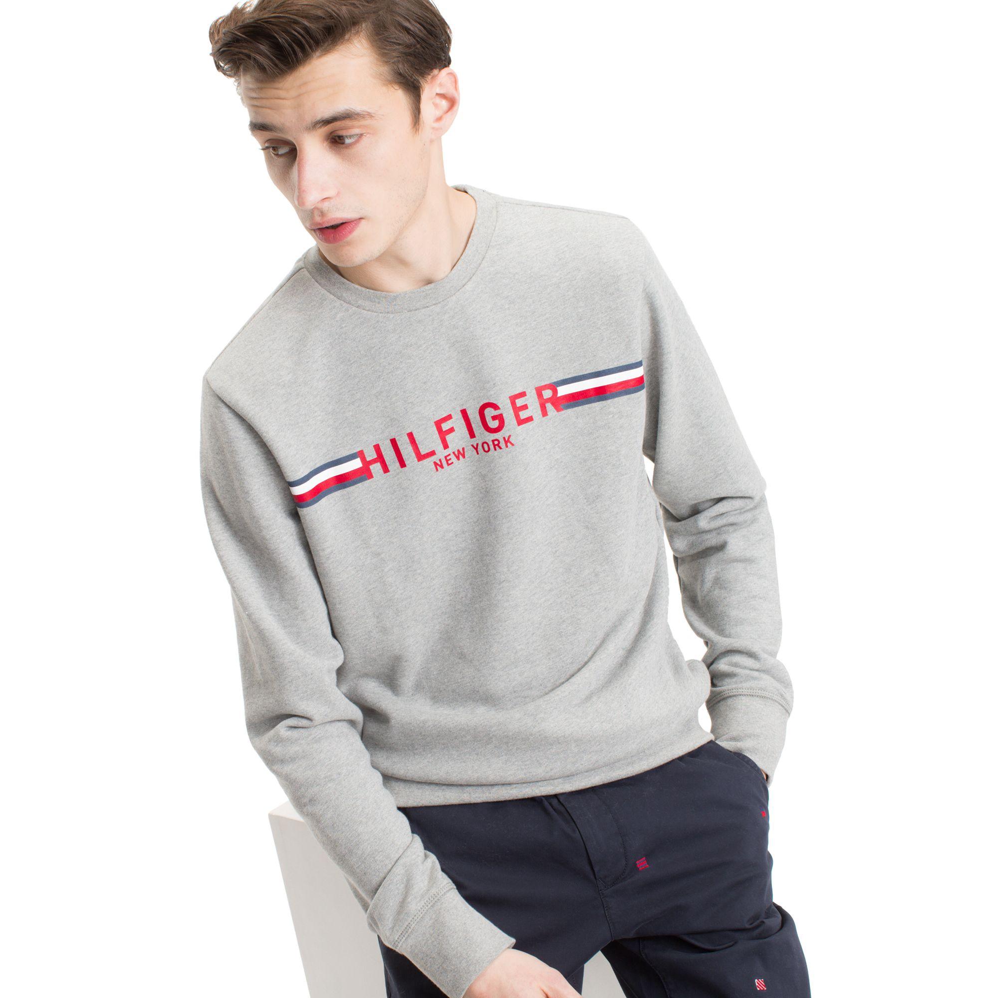 Tommy Hilfiger Crewneck Sweatshirt Sky Captain S Sweatshirts Crew Neck Sweatshirt Hilfiger [ 2000 x 2000 Pixel ]