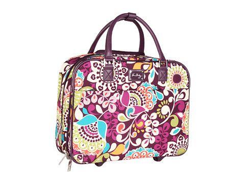 94c8341f94 Vera Bradley Luggage Rolling Work Bag Plum Crazy - Zappos.com Free Shipping  BOTH Ways
