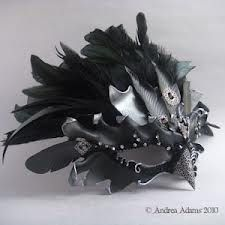 Sold; Raven Queen Leather Mask