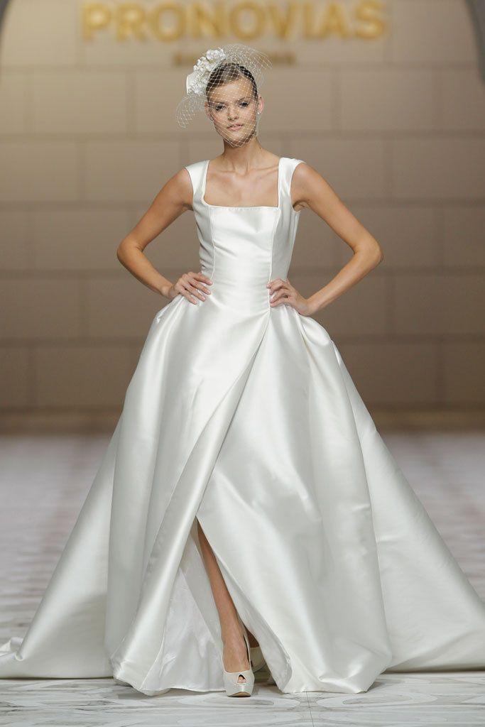 barcelona bridal week: inmaculada garcía, pronovias, victorio