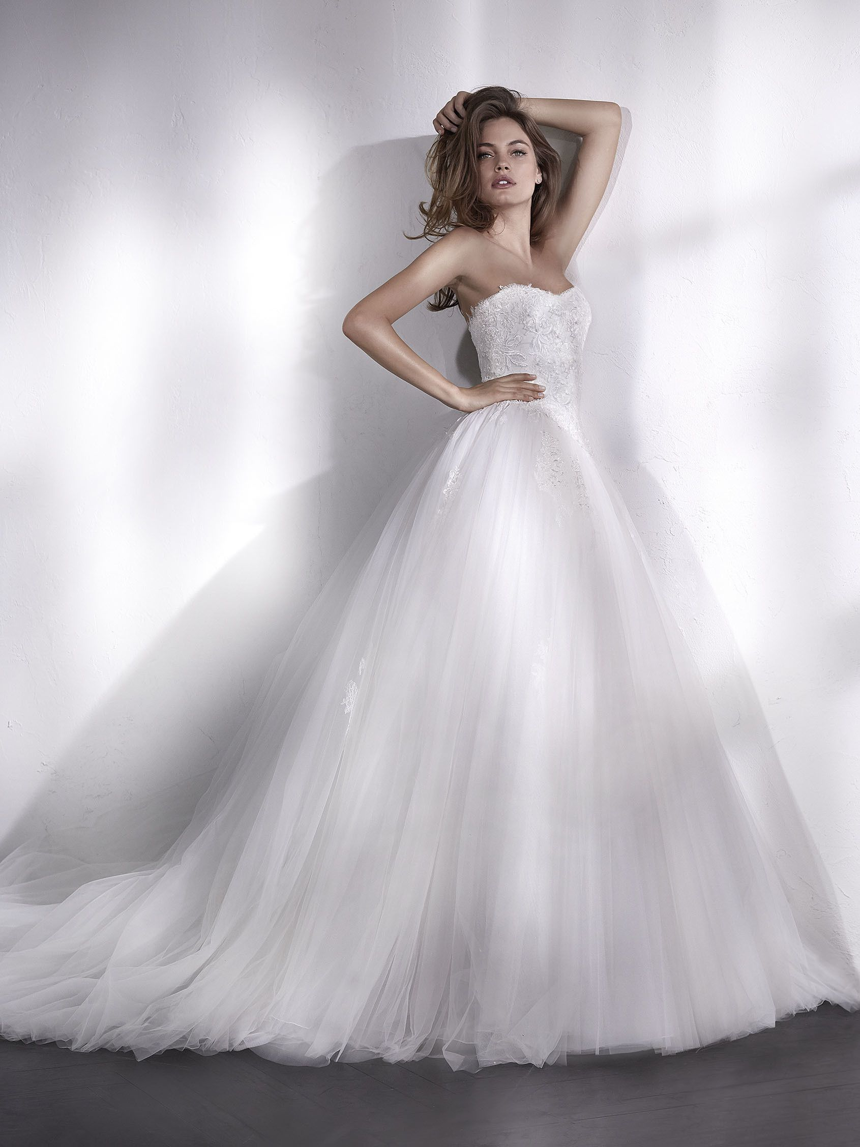 St patrick bridal collection liesen very romantic cinderella