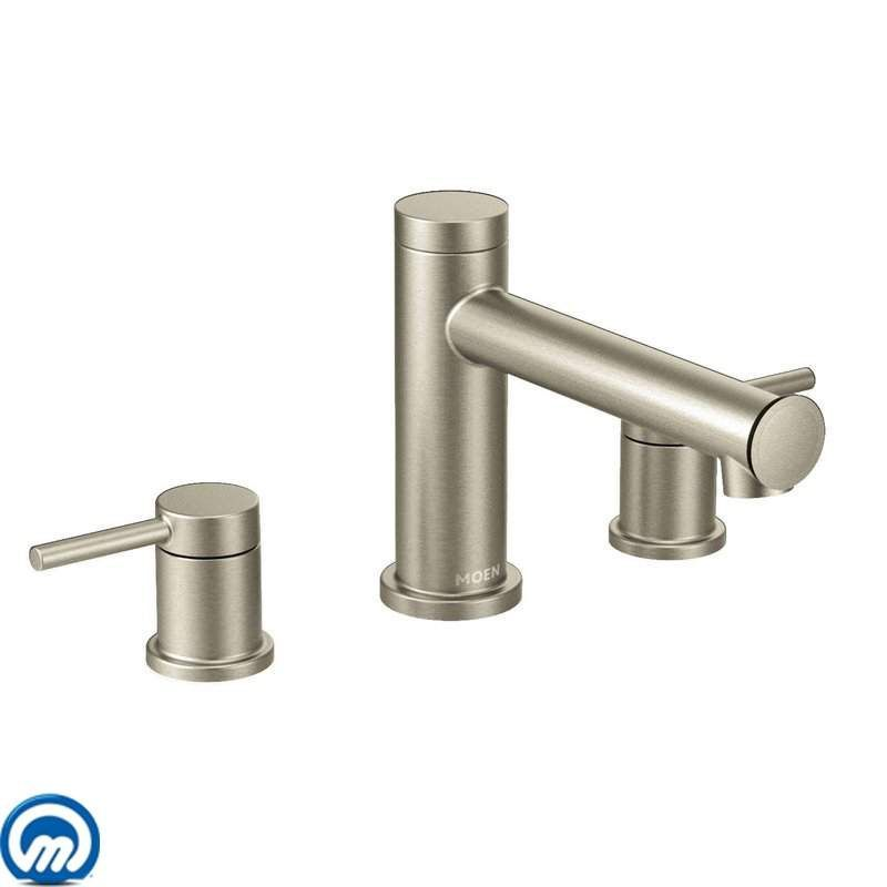 Moen T393 Deck Mounted Roman Tub Faucet Trim from the Align ...