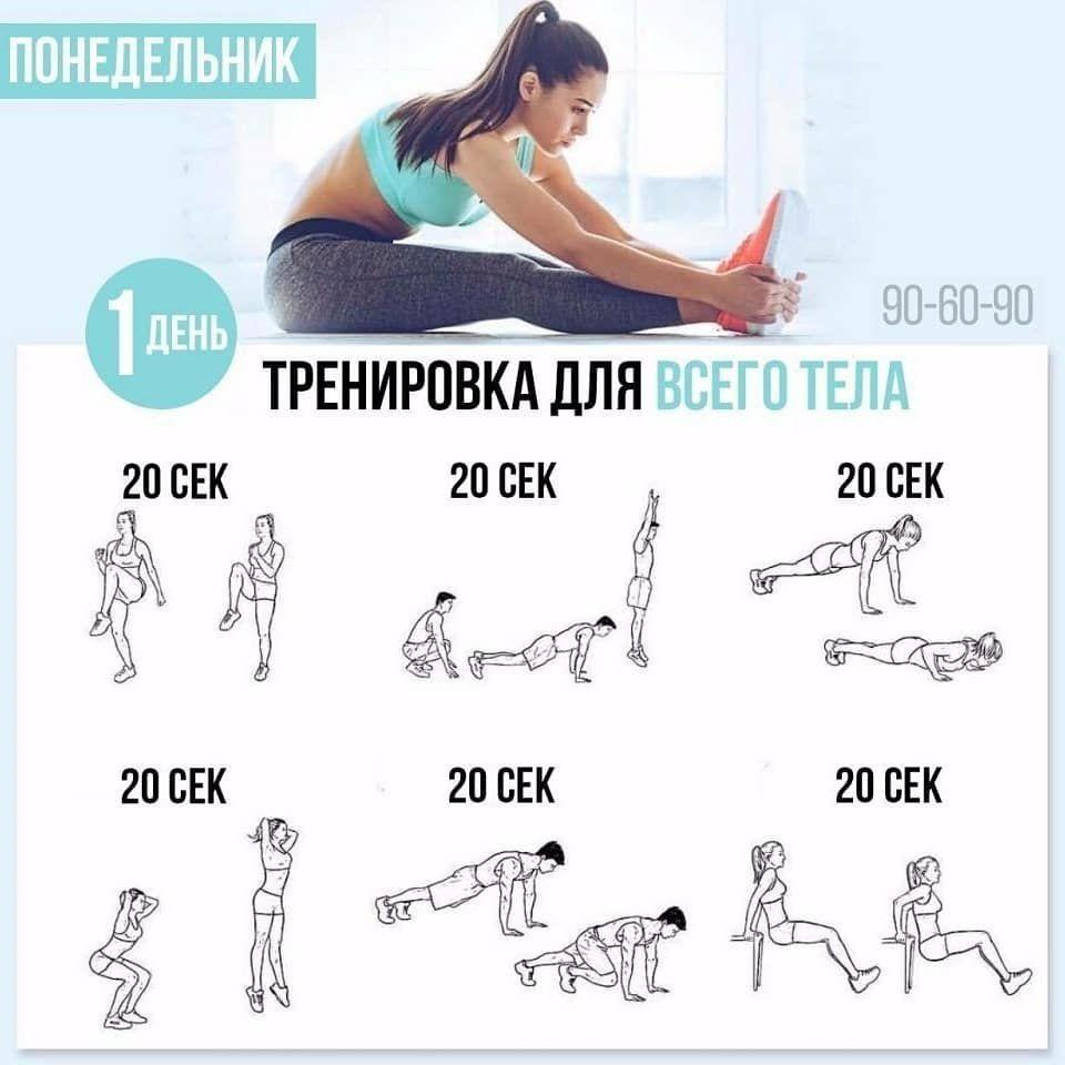 Комплекс Упражнений На Похудения. Эффективные тренировки для похудения