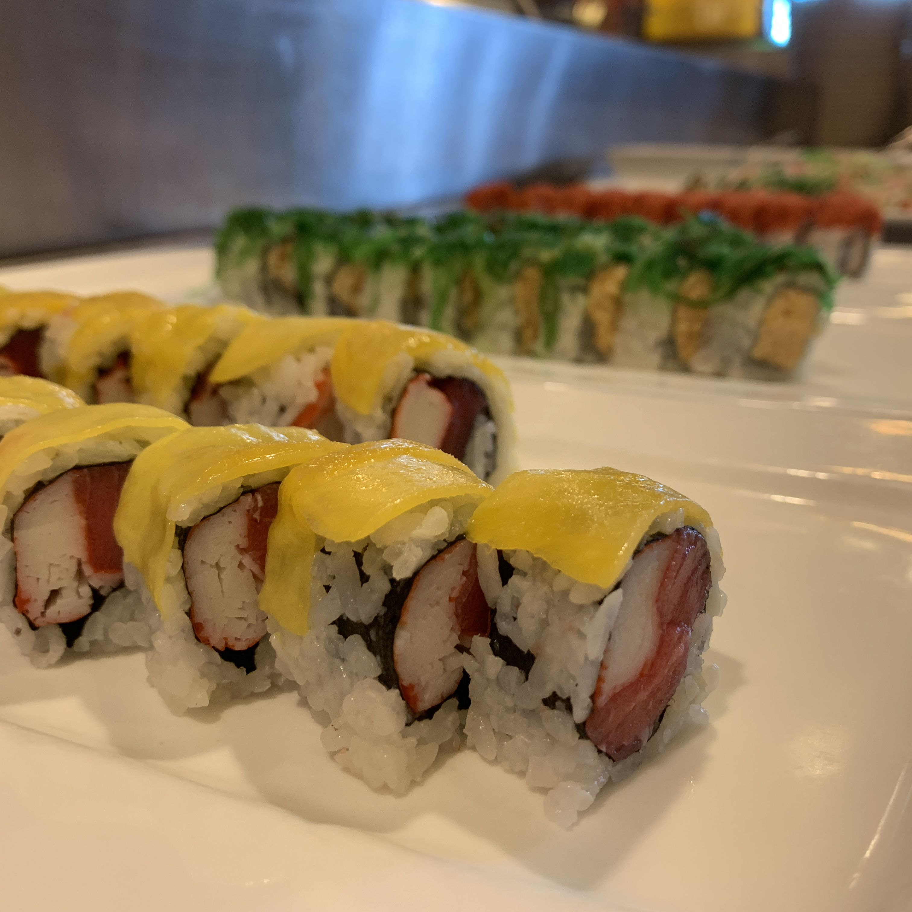 Happy Friday Sign Up At Kokibuffet Com And Receive A 5 Discount On Your Next Order Seafood Sushi Dine365 Newjerseyfood Food Salmon Sushi Delish