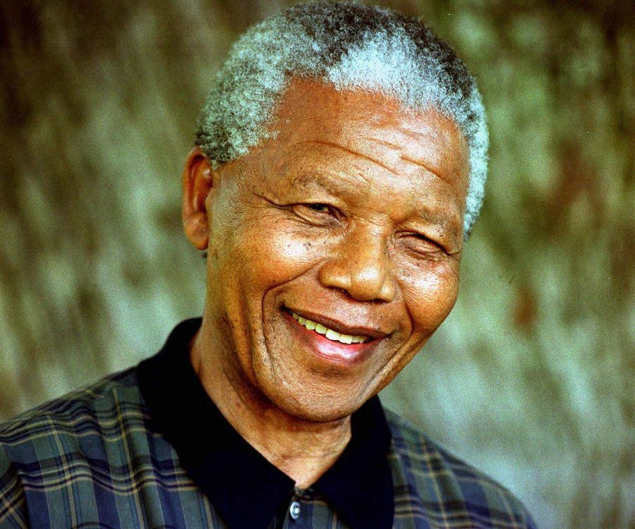 This day in 1990, human rights activist Nelson Mandela was ...