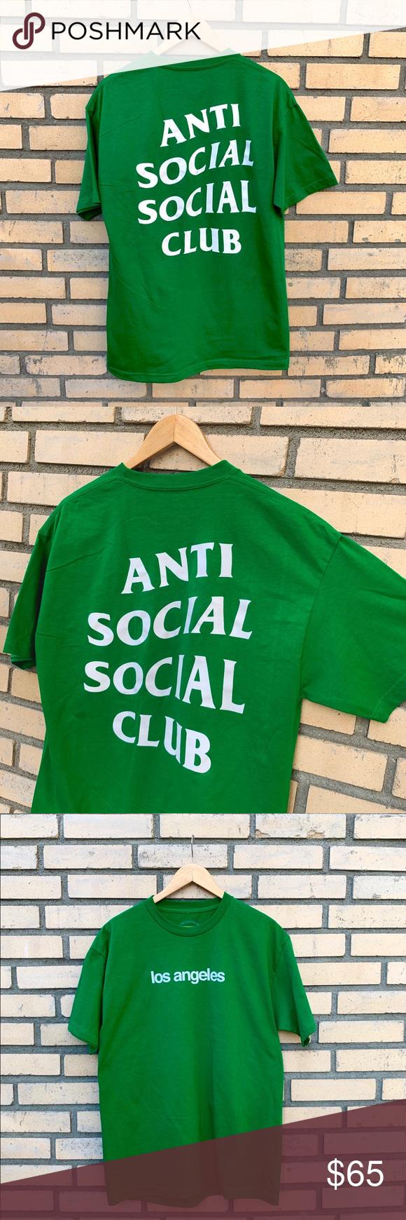 Assc Los Angeles 2019 T Shirt Anti Social Social Club Anti Social Shirts
