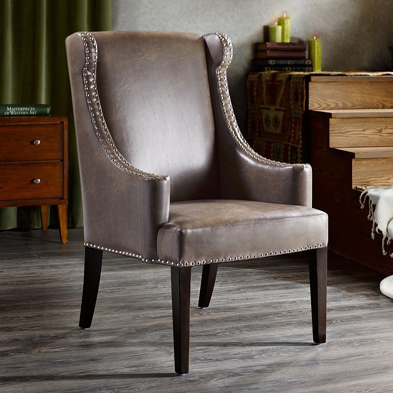 Best Madison Home Usa Marcel High Back Wing Chair Products 400 x 300