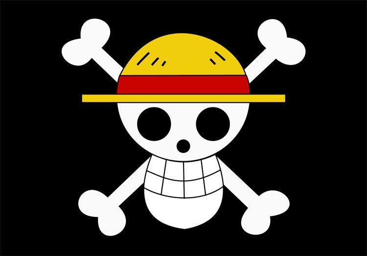 Check out this fantastic collection of one piece jolly roger wallpapers, with 53 one piece jolly roger background images for your desktop, phone or tablet. It's a Jolly Roger... Kinda. (With images) | One piece ...