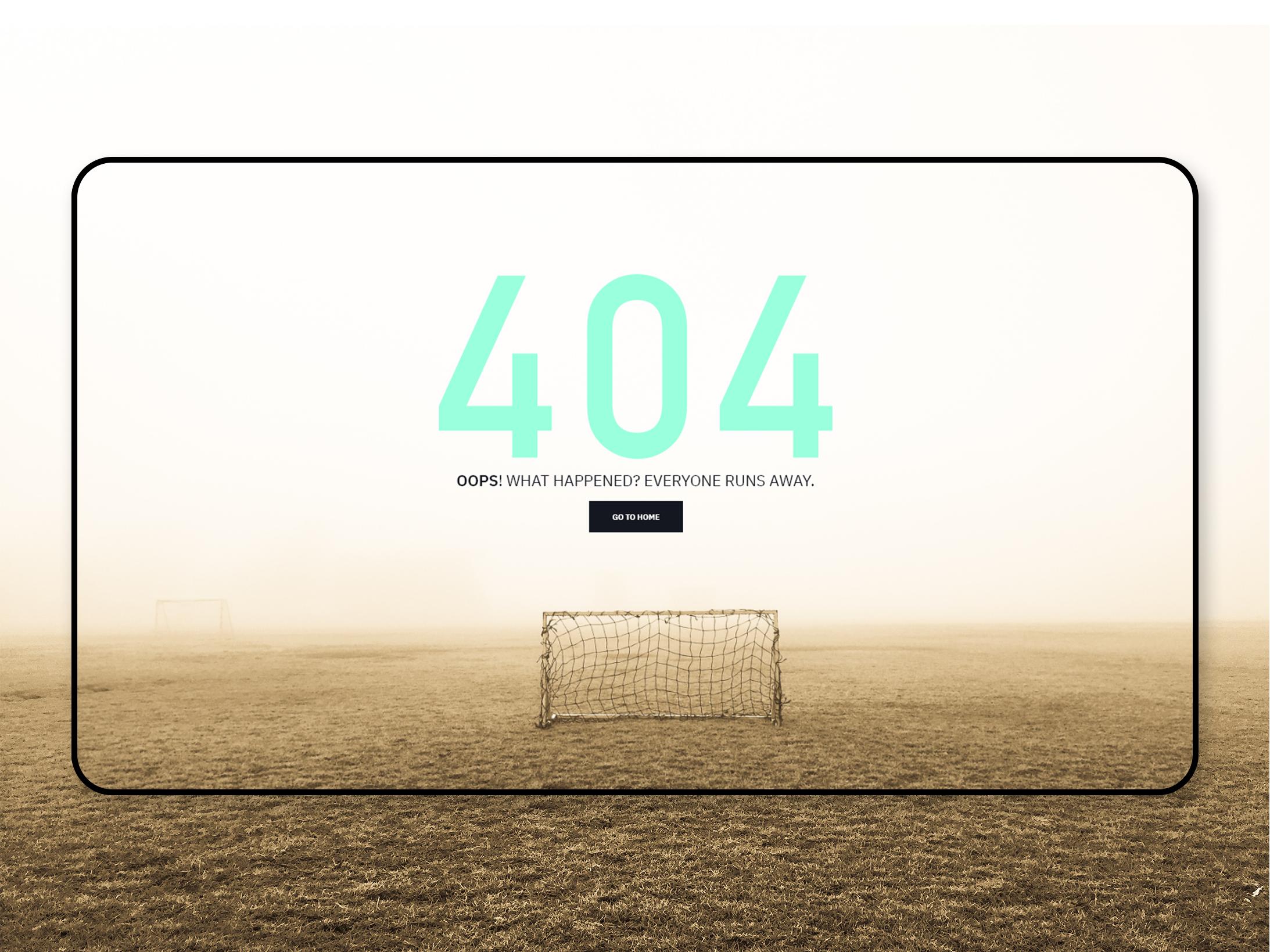 Athlead Website 404 Error Page Paulo San Rafael My Portfolio