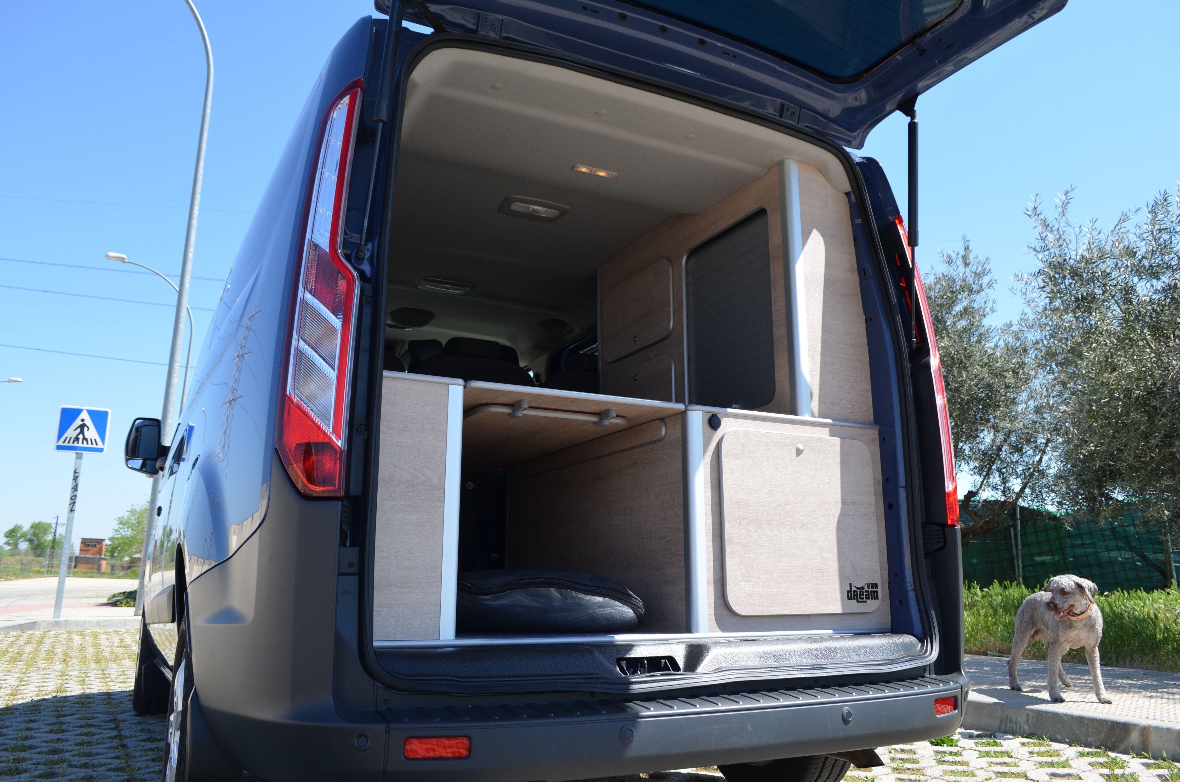 Ford Transit Custom 2017 Van Dream Madrid Surfvan Camperizacion Completa Mobiliario Nevera Cocina Agua