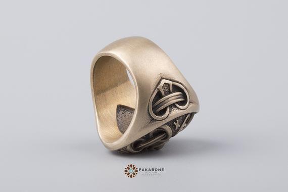 Viking Ring Hail Odin Norse Mythology Viking Jewelry 001-461 #norsemythology