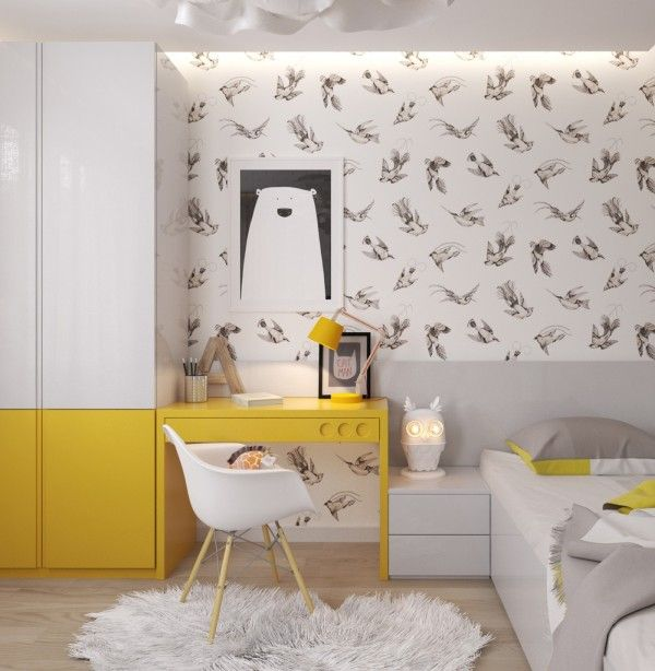 Yellow Kids Room: 5 Creative Kids Bedrooms With Fun Themes