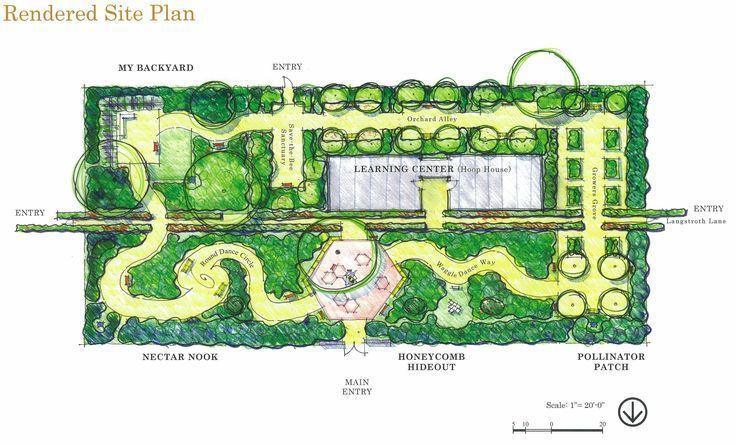 The Winning Design For The Haagen Dazs Honeybee Garden At The Harry Laidlaw Jr Design Garden Haagendazs Harry Hon Jardin Public Idee Idees De Design