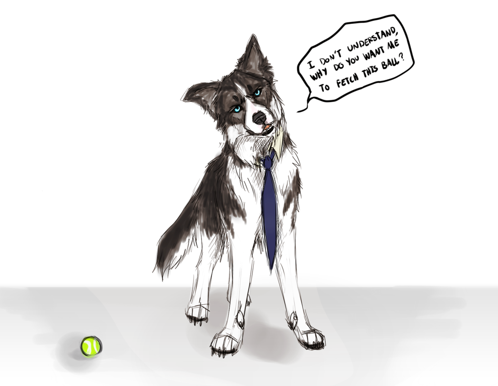 Might draw more SPN dogs in the future, this is fun x3  SPN: I don't understand... by JatoWhitz.deviantart.com on @DeviantArt
