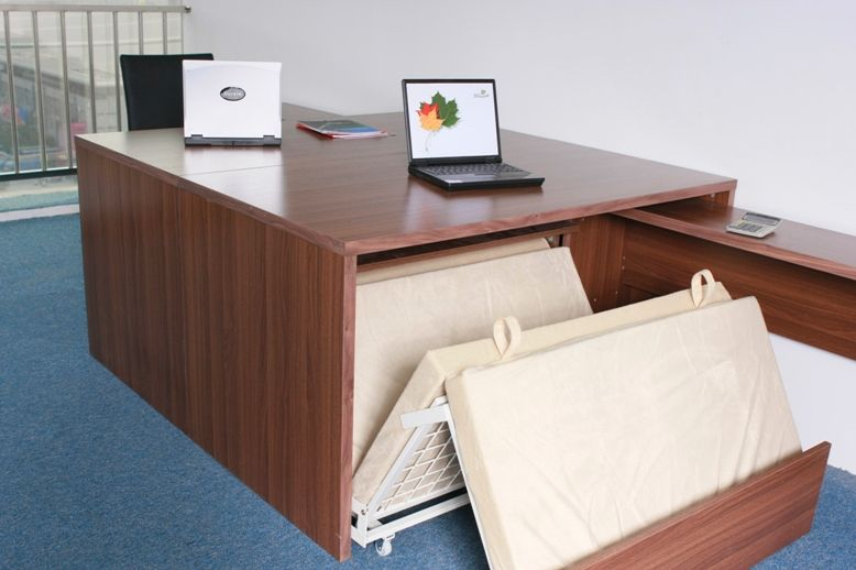 office with bed