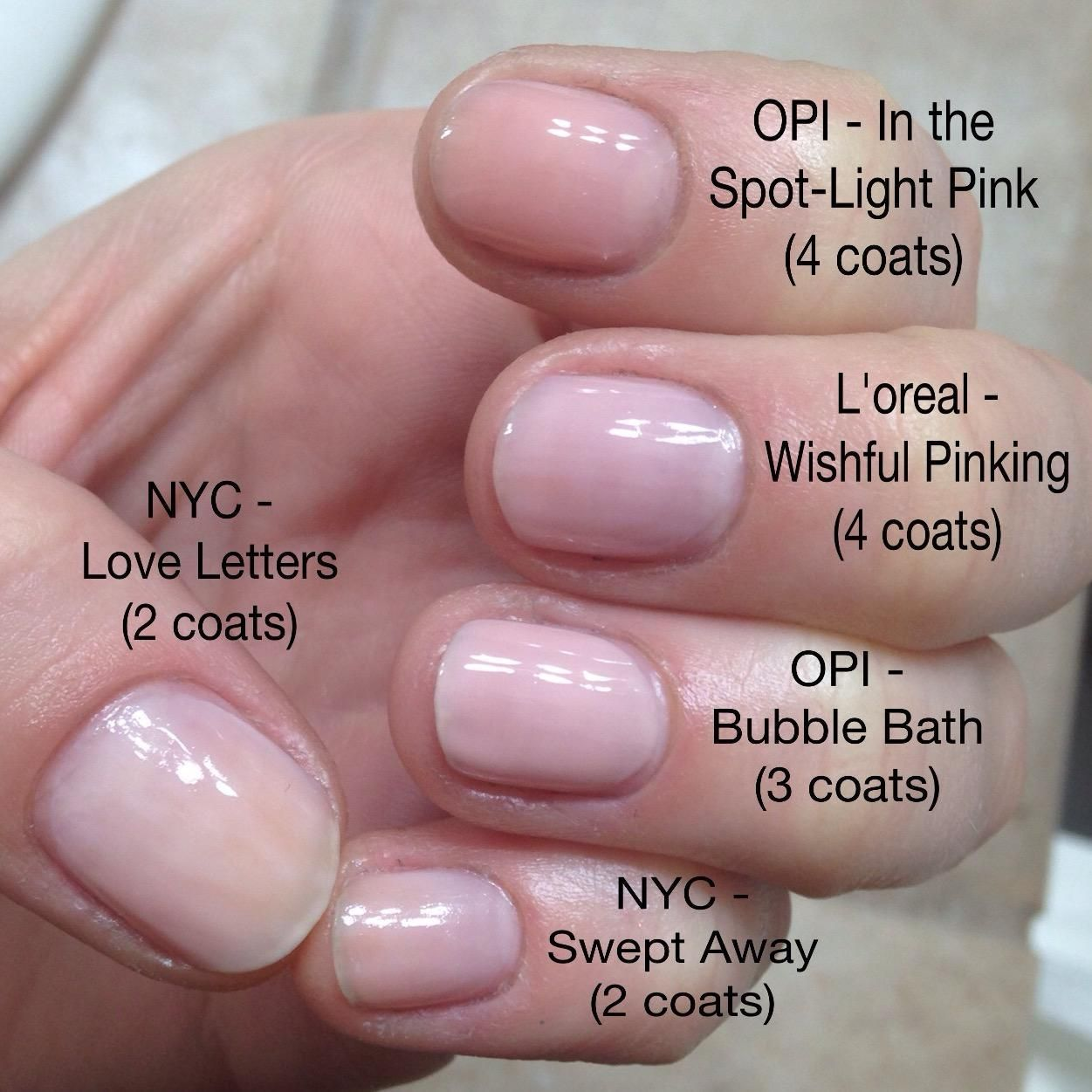 OPI's Passion from OPI's Soft Shades Collection. This ... |Sheer Pink Nail Polish Opi