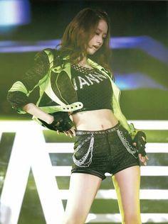 Girls generation Yoona @ The boys#Bad girls#TOP Live