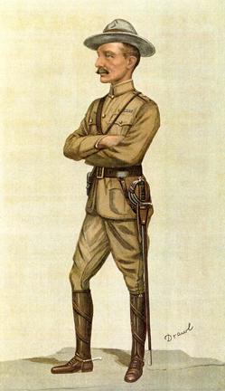 Vanity Fair Caricature Of Robert Baden Powell Caption Mafeking